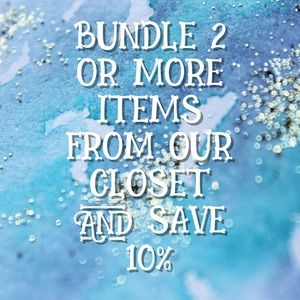 Bundle 2+ items for 10% discount